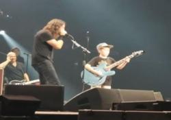 Dave Grohl ha invitato a suonare un bimbo di 10 anni