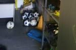 Casabona, incendiati palloni e magliette della formazione di calcio locale