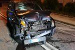 Incidente nella notte a Messina, ferito un uomo di 61 anni