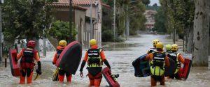 Piogge e inondazioni nel Sud della Francia, vittime e mille evacuati