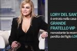 Lory Del Santo entra nella casa del Grande Fratello Vip: «Voglio dare un messaggio di incoraggiamento»