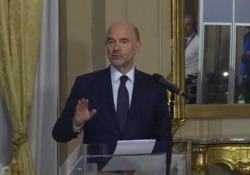 Manovra, i tre rilievi di Moscovici all'Italia Parla il commissario Ue - LaPresse