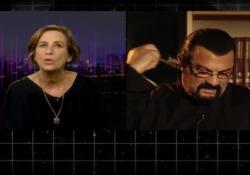 L'attore 66enne intervistato nel programma Newsnight