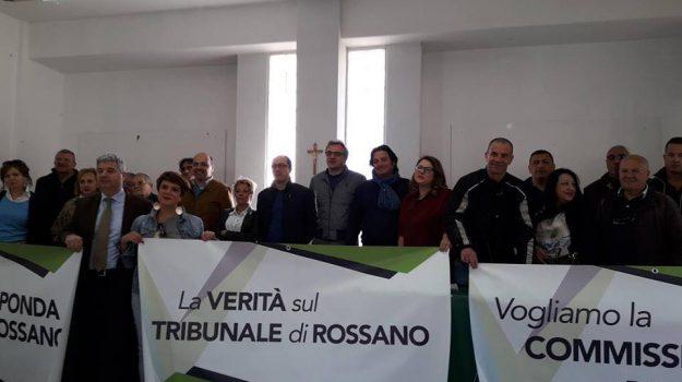 riapetura, roma, soppressione tribunale corigliano, Cosenza, Calabria, Cronaca