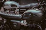Passerella a Eicma per Triumph Bonneville T120 Ace