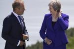 Brexit: telefonata Tusk-May su progressi trattativa