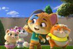 """""""44 Gatti"""" diventa un cartoon: in tv le avventure di Lampo, Milady, Pilou e Polpetta"""