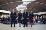 Alitalia:personale terra e volo da oggi con nuove divise