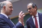 Moscovici e Tria (archivio)