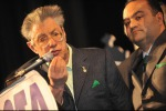 Umberto Bossi e Francesco Belsito