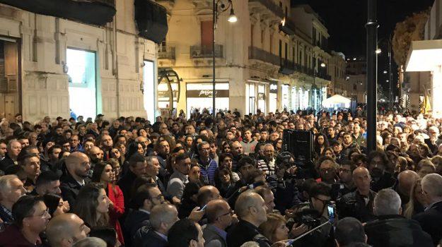 manifestazione 'ndrangheta reggio, Nicola Morra, Reggio, Calabria, Cronaca