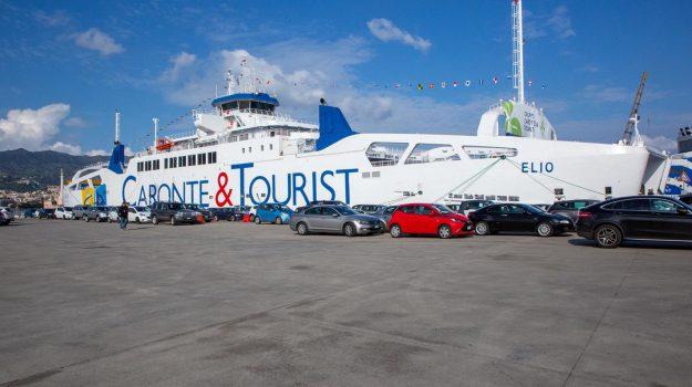 caronte & tourist, nave gemella elio, trasporti stretto di messina, Max Garrubba, Tiziano Minuti, Messina, Sicilia, Economia