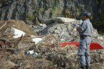 Scalea, rifiuti edili in un'area sottoposta a vincoli: scatta il blitz