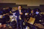 Messina e l'emergenza rifiuti, il video del sopralluogo di De Luca fra le strade colme di spazzatura