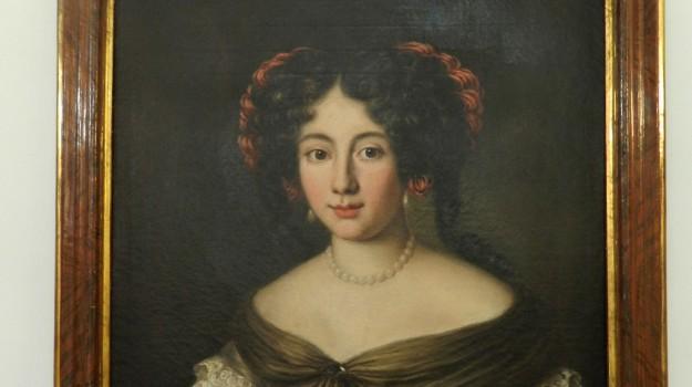 dipinto ariccia, dipinto palermo, dipinto rubato palermo, Ritratto di Marta Ghezzi Baldinotti, Sicilia, Cronaca