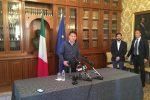 """Palermo, Conte partecipa al vertice in prefettura: """"A Casteldaccia tragedia immane"""""""
