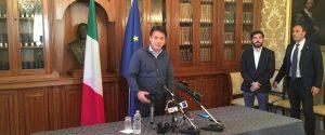 ll presidente del Consiglio Giuseppe Conte