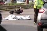 Incidente in moto in viale Regione Siciliana a Palermo: muore un uomo di 44 anni