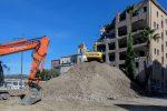 """Ecomostro a Cosenza, via ai lavori di demolizione. Oliverio: """"Ora la riqualificazione"""""""