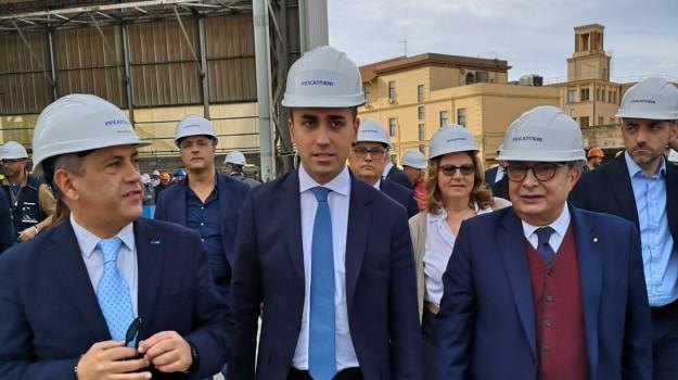 di maio a palermo, di maio fincantieri, Luigi Di Maio, Sicilia, Politica