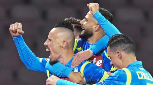 champions league, Napoli-Stella Rossa, Tottenham-Inter, Sicilia, Sport