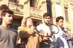 La Farina-Maurolico, studenti in piazza contro l'accorpamento dei due licei di Messina