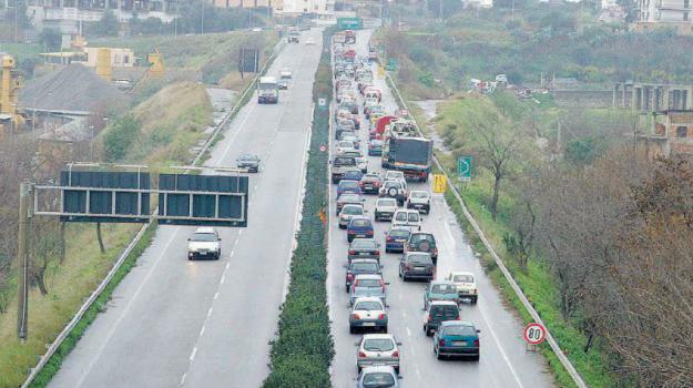 a2 autostrada reggio calabria, chiusura al traffico, gallico campo calabro, Reggio, Calabria, Cronaca