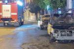 Dodici furgoni incendiati in pochi giorni a Corigliano Rossano