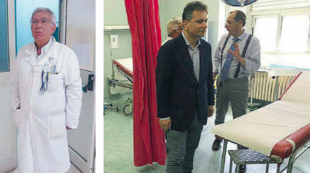 anestesisti gioia Tauro, ospedale gioia tauro, trasferimento anestesista gioia, Lino Mamone, Calabria, Cronaca