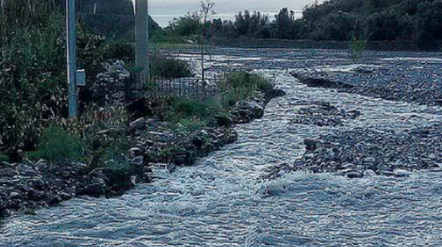 danni torrente pagliara, pagliara, torrente esonda pagliara, torrente pagliara, Messina, Sicilia, Cronaca