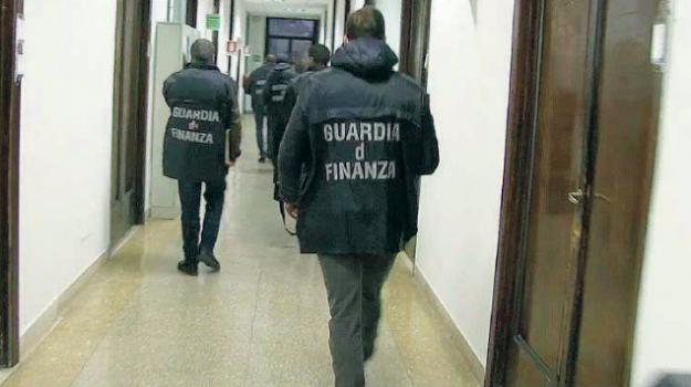 fallimento, guardia di finanza, sequestro, Reggio, Cronaca
