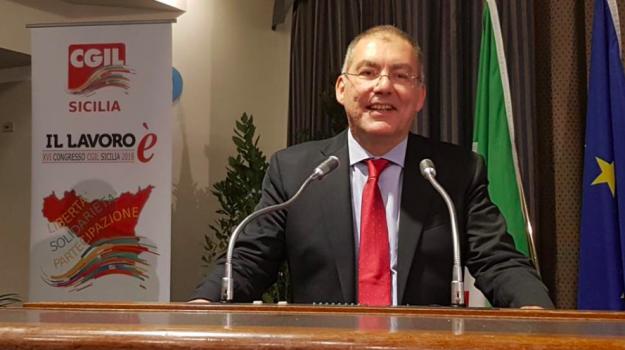 Cigil Sicilia, elezione Cgil Sicilia, elezione Pagliaro, Pagliaro Cgil Sicila, Michele Pagliaro, Sicilia, Economia