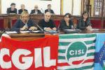 """Reggio, i sindacati bocciano la legge di bilancio: """"Sud dimenticato"""""""