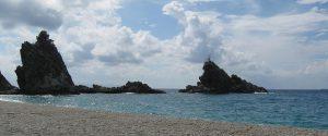 Lo scoglio dell'Ulivo a Palmi, foto Wiki