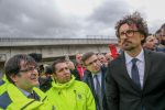 """Toninelli e il sopralluogo in Sicilia: """"Affidare all'Anas la gestione delle strade provinciali"""""""