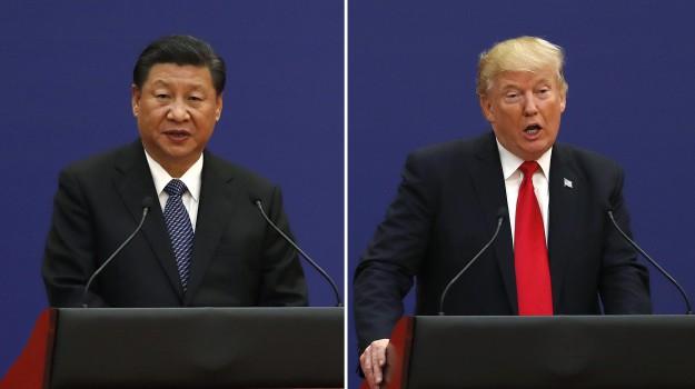 cina, dazi, stati uniti, Donald Trump, Xi Jinping, Sicilia, Mondo