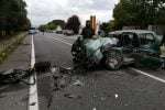 Due auto si schiantano tra Gioia Tauro e Rosarno, gravissima una donna