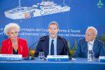 """Messina, Musumeci al varo della nave Elio: """"La Sicilia ha bisogno di una flotta efficiente e all'avanguardia"""""""