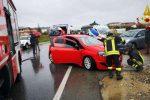 Incidente a Crotone, schianto tra due auto sulla SS 106: ci sono feriti