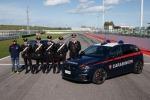 Peugeot e carabinieri, test a Misano con Paolo Andreucci