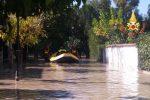 Ondata di maltempo fra Catanzaro e Crotone, le immagini di strade allagate e smottamenti