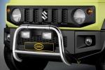 La Cobra manda in palestra la Suzuki Jimny