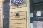 Fiamme a un bar del centro di Reggio, predisposte misure di vigilanza per i titolari