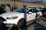 Test auto guida autonoma a Torino