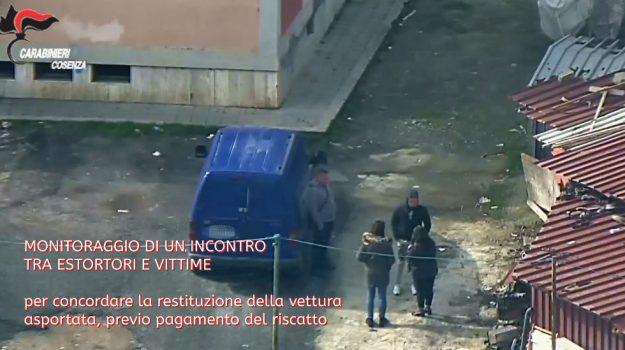 cavallo di ritorno, furto auto, Cosenza, Calabria, Cronaca