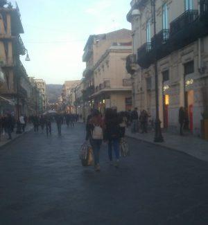 Corso Garibaldi a Reggio Calabria