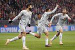 Champions League, la Roma batte il Cska Mosca grazie a Manolas e Pellegrini