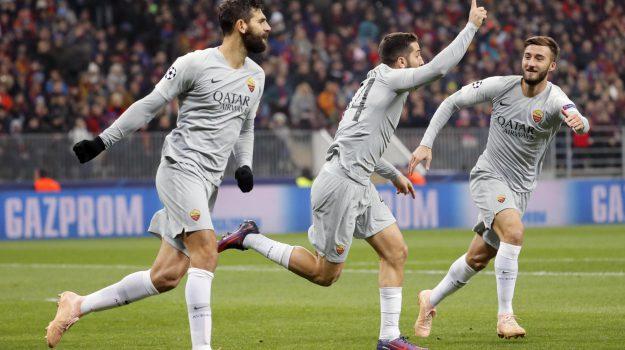 champions league, roma calcio, Sicilia, Sport