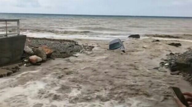 esondazione sirina, maltempo messina, sirina alluvione taormina, Messina, Sicilia, Cronaca
