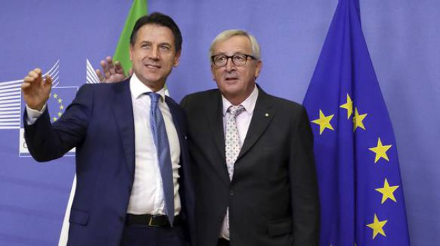 manovra finanziaria, Giuseppe Conte, Jean-Claude Juncker, Sicilia, Politica